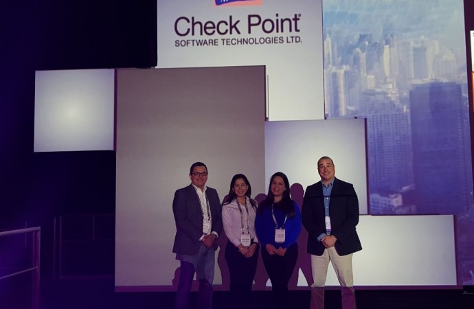 Soluciones Seguras presente en CPX 360 CHECK POINT EXPERIENCE 2018 celebrado en Las Vegas
