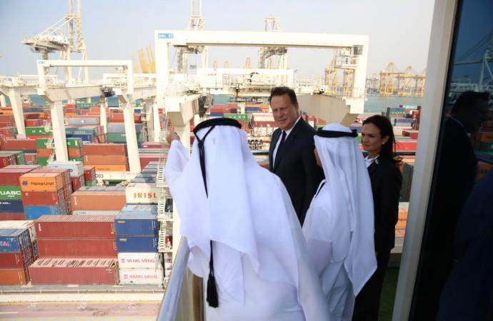 Presidente Varela promueve conectividad aérea, marítima y logística en Dubai