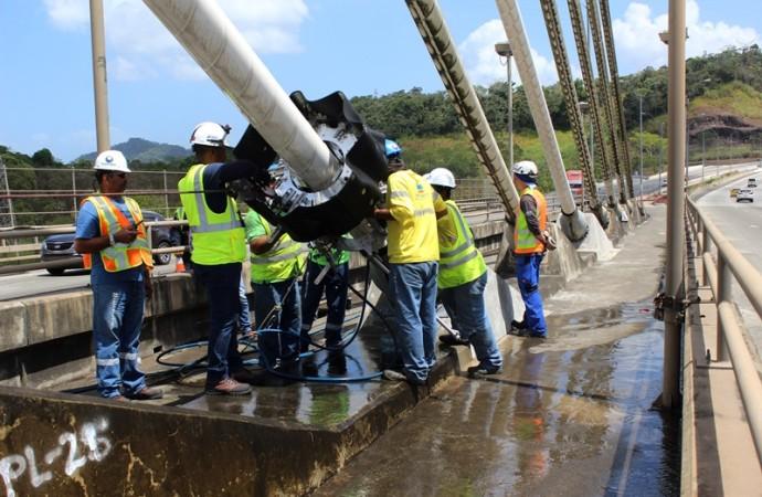 Inspección nivel III al puente Centenario llega a su etapa final
