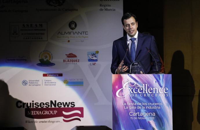 Pullmantur Cruceros, galardonada con el Premio Excellence a la Mejor Tripulación por noveno año consecutivo