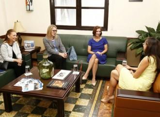 Ministra de Gobierno sostuvo encuentro con la Ministra Consejera de la Embajada de los Estados Unidos