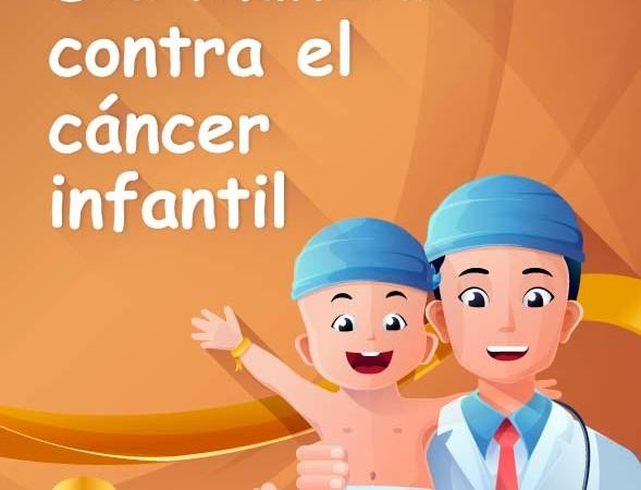 Este 15F de la mano con el Día mundial contra el cáncer infantil