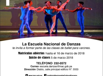 Escuela Nacional de Danza abre convocatoria para clases de ballet a varones