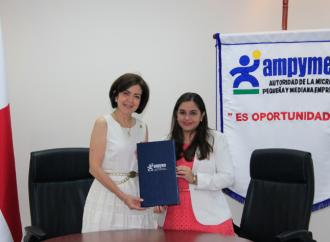 Convenio de cooperación suscrito entreAMPYME y CAMCHI fortalecerá e impulsará a las MIPYME