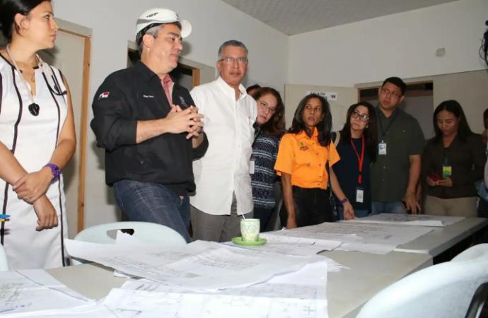 Autoridades de Salud realizan gira de trabajo en Azuero