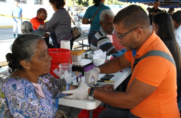 Unas mil quinientas personas fueron atendidas en el megaevento de Salud realizado en Changuinola