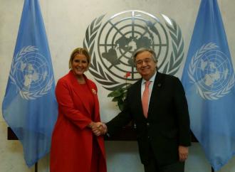 Secretario General de las Naciones Unidas reconoce liderazgo de la Primera Dama en la promoción de los derechos humanos