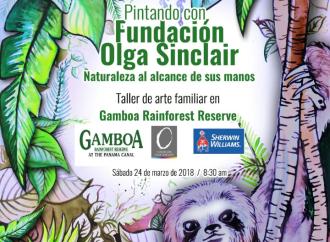 Fundación Olga Sinclair y Gamboa Rainforest Reserve le invitan al Taller de Arte: Naturaleza al Alcance de tus Manos