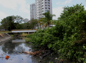 MOP realizó Jornada de limpieza en canal pavimentado de La Polleriza y en el sector de Chanis