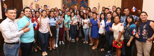 Gobierno envía a generación joven de panameños a aprender mandarín y convertirse en embajadores de Panamá