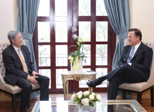 Gobernador del Banco Popular de China expresa su confianza en plataforma financiera de Panamá