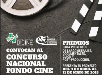 Inscripción del Concurso Fondo Cine 2018 inicia el 9 de abril