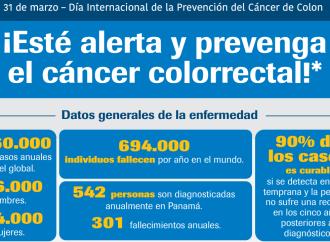Este 31 de marzo se celebra el Día Internacional de la Prevención del Cáncer de Colon