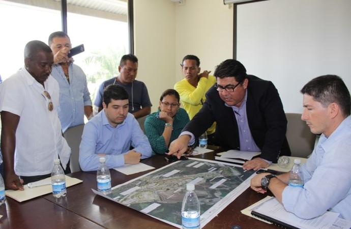 Secretario del MOP se reúne con Comité del Valle de San Francisco para minimizar afectaciones del proyecto Carretera Chivo – Chivo – Centenario