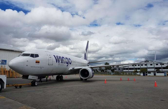 Wingo realizará cuatro vuelos semanales en la ruta Panamá – Cali