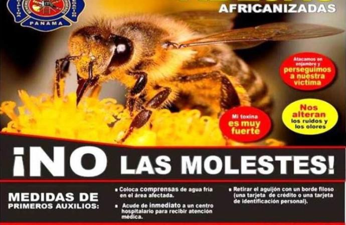 El Benemérito Cuerpo de Bomberos de la República de Panamá realiza Campaña Educativa sobre ataques de abejas africanizadas
