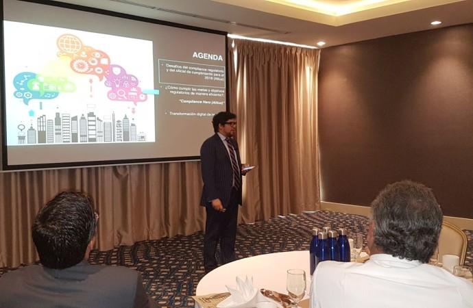 GBM Panamá en alianza con Altiuz presentan claves del uso de la tecnología en materia de cumplimiento para el sector financiero
