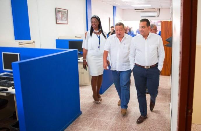 Ministro Carles reinaugura Subregional de MITRADEL en Puerto Armuelles