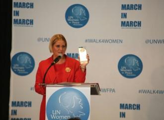 Asociación de Mujeres por la Paz, de las Naciones Unidas, otorga Premio Liderazgo 2018 a Primera Dama de Panamá