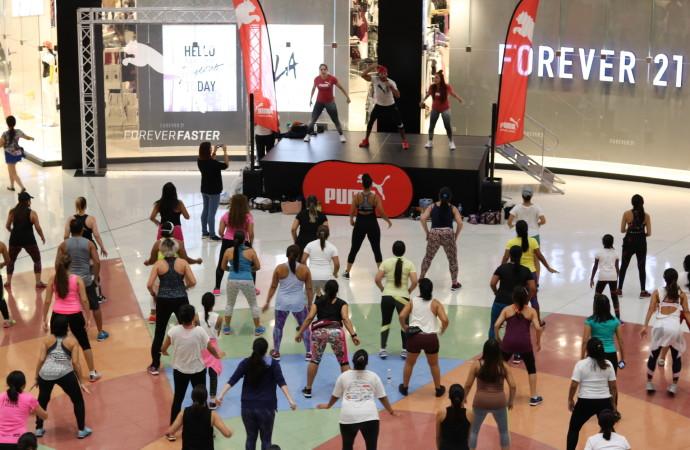 Ponte en forma y entrena totalmente gratis enAltaPlaza Mall