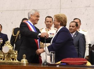 Sebastián Piñera asume como Presidente de Chile y da inicio su segundo mandato