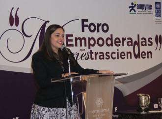 AMPYME Y PNUD realizan foro Mujeres Empoderadas, Mujeres que Trascienden