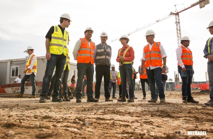 Ministro de Trabajo realiza recorrido por el proyecto del ITSE