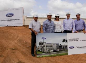 Grupo Cincuentenario inicia construcción de su nueva agencia de Ford en La Chorrera