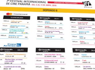 Para que no te pierdas ningún evento del Festival Internacional de Cine Panamá