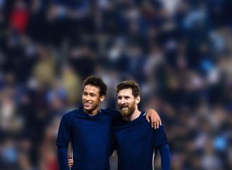 Mastercard reúne a los reconocidos futbolistas, Messi y Neymar Jr., en un movimiento social para terminar con el hambre infantil