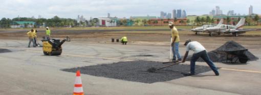 Culminan trabajos en el aeropuerto de Albrook