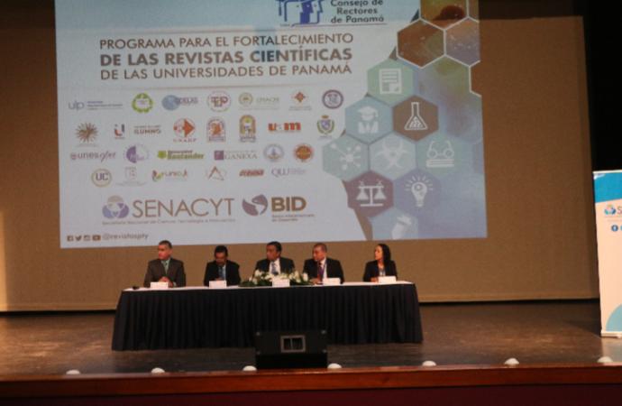 La SENACYT y el Consejo de Rectores de Panamá buscan fortalecer las Revistas Científicas enUniversidades panameñas