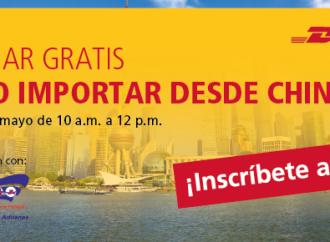 """DHL ofrecerá capacitación gratuita """"on-line"""" sobre cómo importar desde China"""