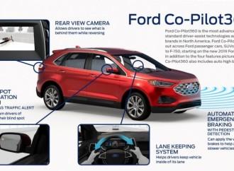 Ford Co-Pilot360 ™: el conjunto más avanzado de tecnologías estándar de asistencia al conductor