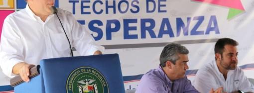 Gobierno entrega 232 casas de Techos de Esperanza y se acerca a la meta de 100 mil viviendas en todo el país