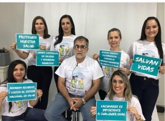 """Paraguay inicia mes de la Vacunación bajo el lema""""Las Vacunas SI FUNCIONAN, protege tu futuro y el de tu familia, Vacúnate!"""""""