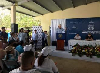 Gobierno pone en marcha construcción de más de 60 kms de carretera en La Pintada, Penonomé