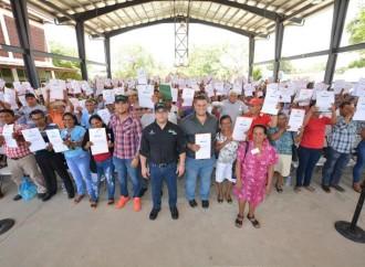 ANATI entregó 500 títulos de propiedad a coclesanos