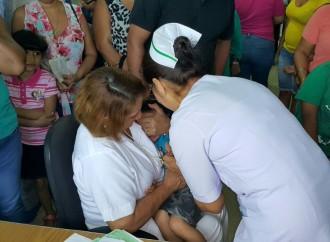 Panamá extiende Jornada de vacunación contra el sarampión hasta el 22 de abril