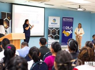 MITRADEL realizó jornada de capacitación a jóvenes inscritos en los cursos del INADEH