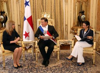 El Presidente Varela recibió cartas credenciales de embajadores de Suiza, Austria, Belarús, Guinea, Djibouti, Eslovaca y Georgia