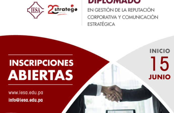 Diplomado en Gestión de la Reputación Corporativa y Comunicación Estratégica IESA – STRATEGO 2018