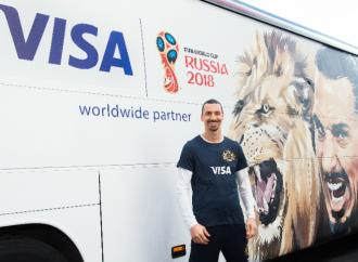 Zlatan Ibrahimović regresa con Visa a la  Copa Mundial de la FIFA Rusia 2018™