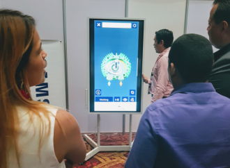 Samsung Flip de lo más llamativo en el Tech Day Tour 2018