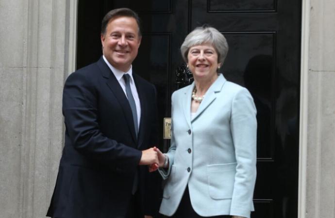 Panamá y Reino Unido fortalecerán sus relaciones en los ámbitos políticos, comerciales y de educación y de seguridad