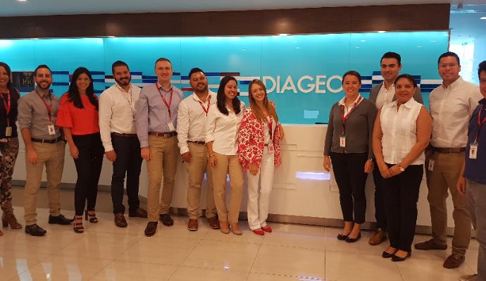 Diageo recibe el Great Place to Work® en la categoría de Multinacionales de Centroamérica & Caribe