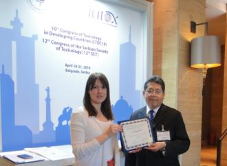 Científico panameño es premiadoen Belgrado, Serbia, por la Unión Internacional de Toxicología