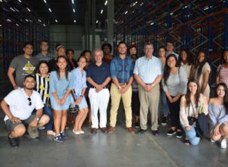Estudiantes estadounidenses visitan Panamá para conocer más sobre logística
