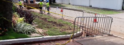 Continúa el avance de los trabajos del Proyecto de Soterramiento de Cables en Obarrio
