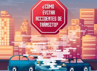 Cómo evitar accidentes de tránsito